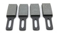 Set of 4 parking brake pads